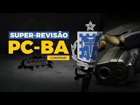 Aula Gratuita - Super Revisão de Véspera  Polícia Civil da Bahia - AO VIVO - AlfaCon