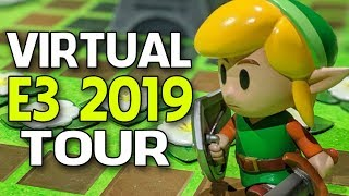 VIRTUAL TOUR of the Link's Awakening Area at Nintendo E3 2019!