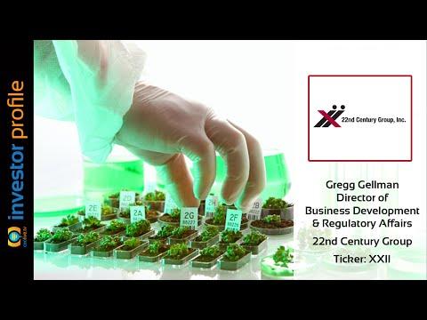 $XXII | 22nd Century Group Patent Portfolio Focused on $700 Billion Market