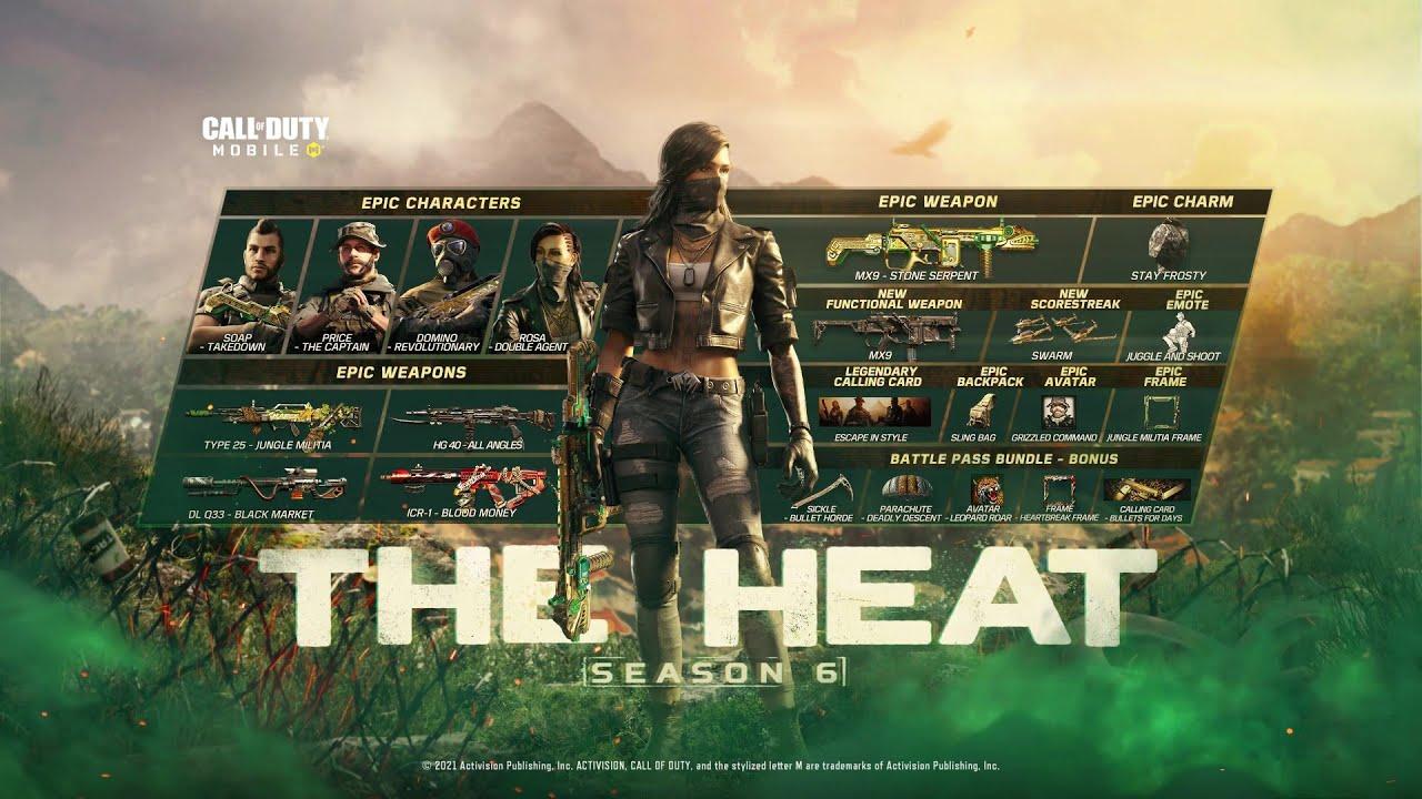Call of Duty®: Mobile - Season 6 The Heat | Battle Pass Trailer