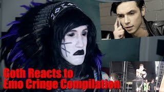Goth Reacts to Emo Cringe Compilation
