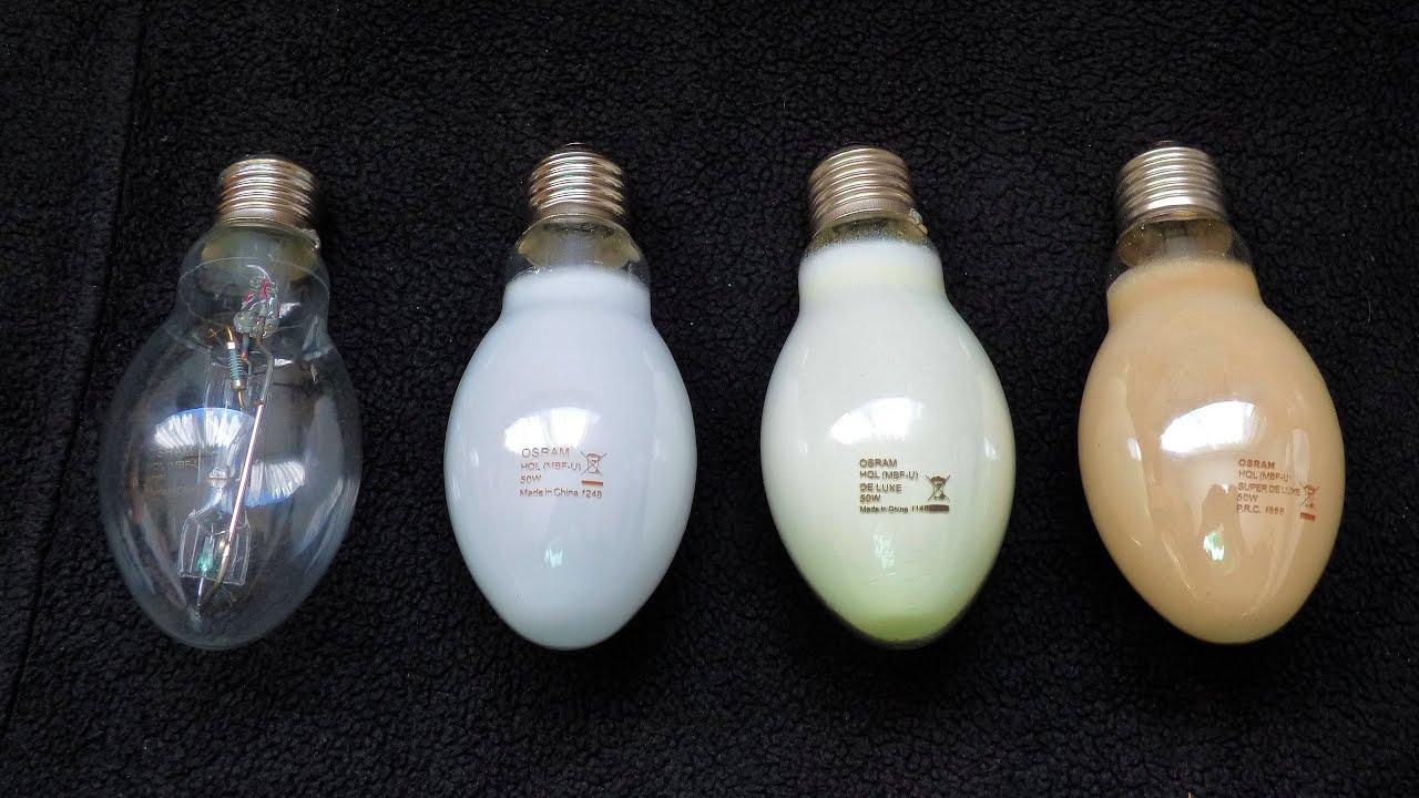 Lampy Rtęciowe Osram 50w High Pressure Mercury Vapour