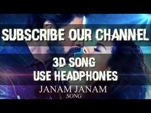 Janam janam (3d song) (use headphones)    Arijit singh   DILWALE    Shahrukh Khan, Kajol