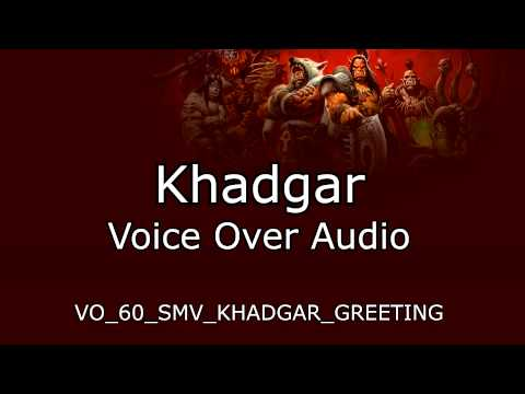 Khadgar Voice Over   Warlords of Draenor