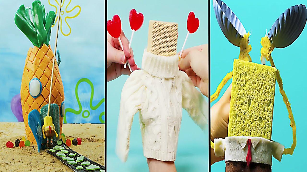 Best Spongebob IRL Animations Among Us
