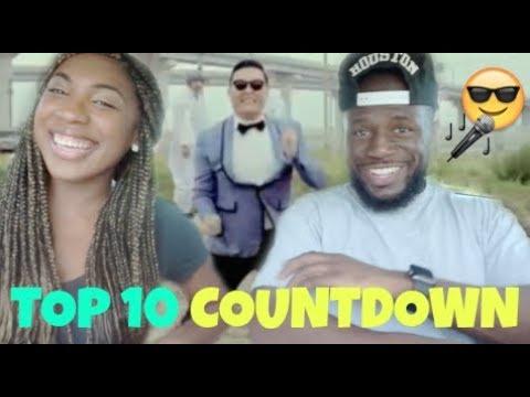 Top 10 Iconic K-Pop Songs REACTION (Psy, Hyuna, Ringa Linga & more)