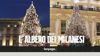 Addobbi Natalizi The Sims 3.Milano Sfida Tra Gli Alberi Di Natale Duomo O Galleria Youtube