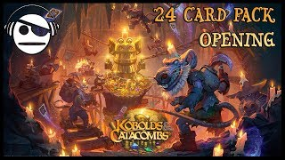 Hearthstone | Kobolds & Catacombs | 24 Card Pack Opening