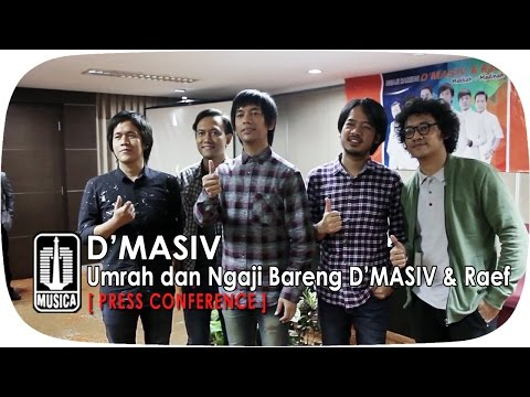 Umrah dan Ngaji Bareng D'MASIV & Raef (Press Conference)