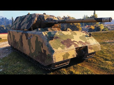 Maus - 1 vs 8 - World of Tanks Gameplay