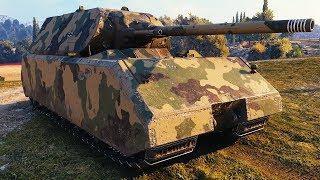 Maus - 1 vs 8 - World of Tanks Gameplay