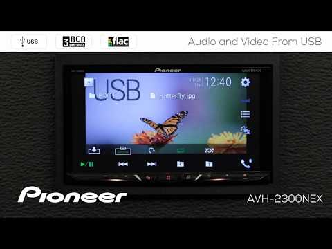 How To - Video and Audio from USB on Pioneer AVH-NEX In Dash Receivers 2017