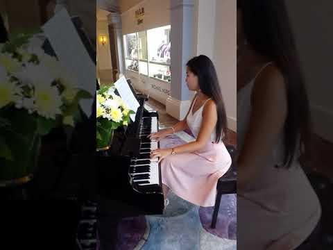 """Фортепиано. Ланфрен  Ланфра из к/ф """"Гардемарины вперёд"""". Игра на фортепиано. Популярные мелодии."""