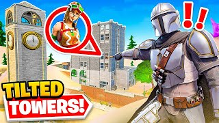 *CRAZY* HIDE & SEEK in Fortnite Season 5! (new map)