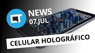 Celular que projeta hologramas; iPhone 8 falso já está sendo vendido e+ [CT News]