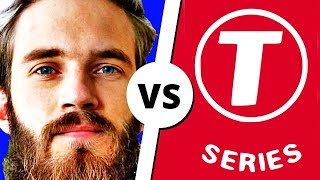 PEWDIEPIE vs T-SERIES...