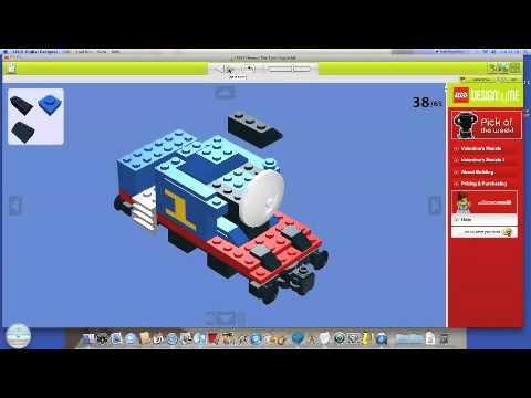 How To Build LEGO Thomas The Tank Engine - YouTube