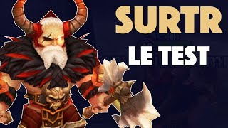 SURTR : Le Test ! (Roi Barbare Feu) (Summoners War)
