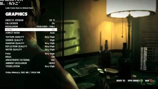 Max Payne 3 Max settings on AVerMedia Live Gamer HD ( small review of cap card )