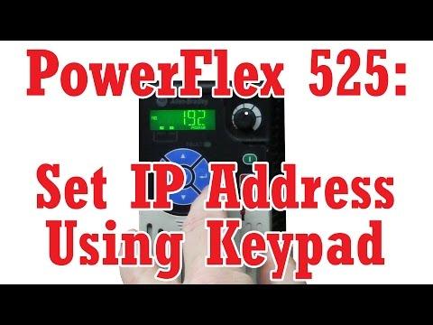 powerflex 525 setup video by todd youtube