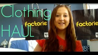 Clothing Haul - Factorie, Target, City Beach and Cotton On