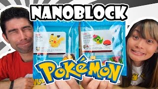 Nanoblock o mini lego japonês - Japão Nosso De Cada Dia