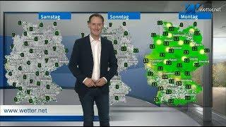 Bibberwetter zum Wochenende: Schneefall bis in die Niederungen! (Mod.: Dominik Jung)