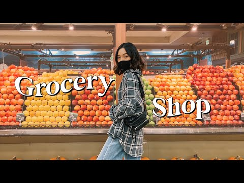 Healthy Grocery Shopping + What I Eat In A Week