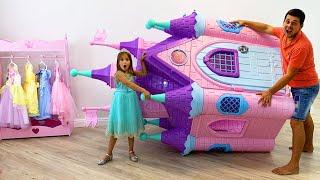 Sofia and her new Princess Room