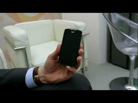 Acer Liquid Glow - video demo @ MWC 2012