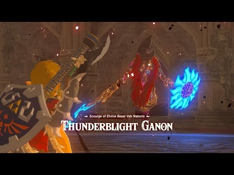 Zelda Breath Of The Wild Hyrule Castle Blight Ganons And Calamity Ganon Three Hearts Youtube
