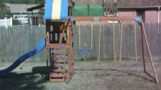 How To Build A Sunchaser Swing Set