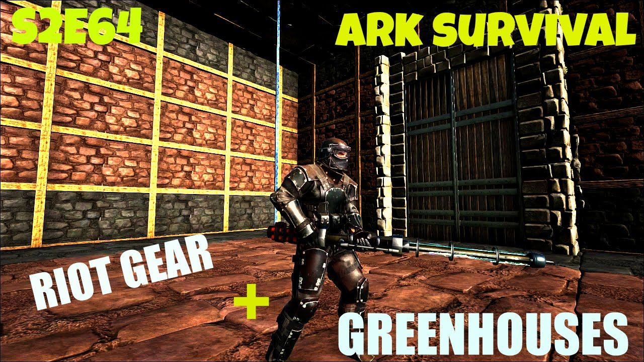 how to make riot armor ark