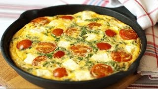 омлет диетический рецепт на сковороде с помидорами