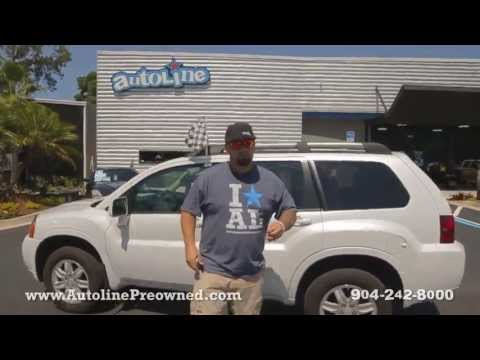 Autoline Preowned 2011 Mitsubishi Endeavor For Sale Used Walk Around Review Test Drive Jacksonville