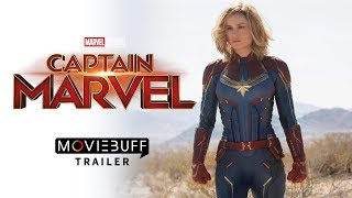 Captain Marvel - Moviebuff Telugu Trailer | Brie Larson | Directed by Anna Boden, Ryan Fleck
