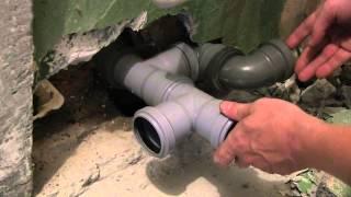 Предварительный монтаж канализационных труб(Предварительный монтаж канализационных труб в ванне,на умывальник,ванну,пральную машину. http://youtu.be/KWbsE32GRnA..., 2014-08-01T16:47:53.000Z)