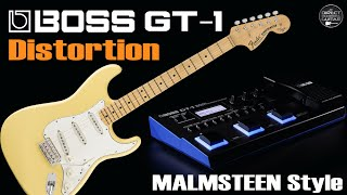 Download Video BOSS GT-1 MALMSTEEN Distortion [GT1 Patch]. MP3 3GP MP4