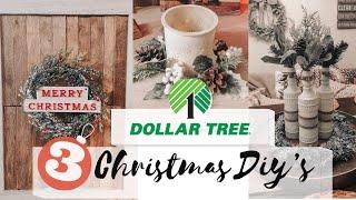 Dollar Tree Christmas DIY 2019 | Easy Christmas Farmhouse Home Decor | Centerpiece DIY
