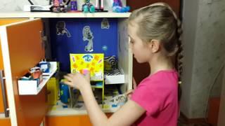 видео картинки домик для кукол монстер хай своими руками