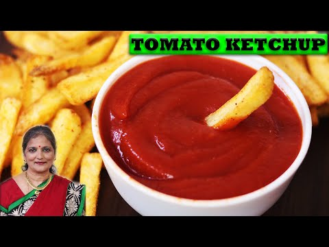 How To Make Tomato Ketchup at Home Easily-टोमेटो केचप घर पर कैसे बनाये-Tomato Ketchup Recipe