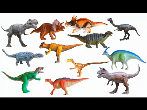 Cretaceous Dinosaurs - Tyrannosaurus Rex, Triceratops & More - The Kids' Picture Show