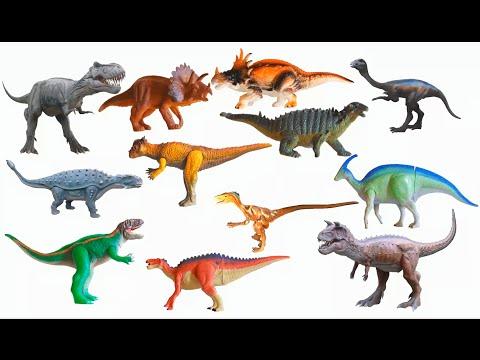 Cretaceous Dinosaurs - Tyrannosaurus Rex, Triceratops & More - The Kids