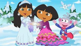 Dora The Explorer: Dora Saves The Snow Princess | Full Movie Game | PimPamPum KIDS HD