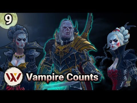 Von Dooferson! #9 Total War: Warhammer 2 Mortal Empires - Vampire Counts Vlad Campaign Gameplay