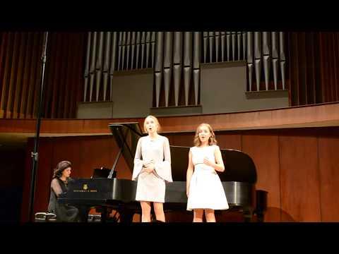 Anna Wojcik & Ella Farlinger  Flower Duet by Delibes