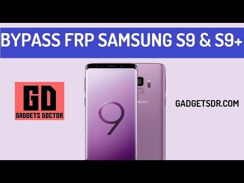 Bypass FRP Samsung Galaxy S9 (SM-G960)