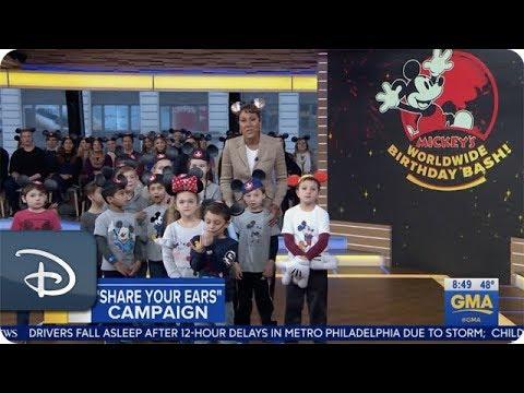 'Share Your Ears' - Good Morning America | Disney Parks