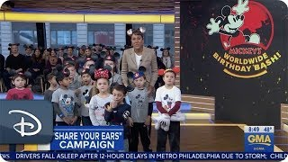 'Share Your Ears' - Good Morning America   Disney Parks