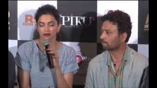 What made deepika padukone emotional at film piku trailer launch?